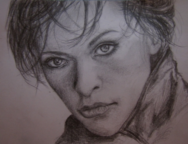 Milla Jovovich by CinderFall